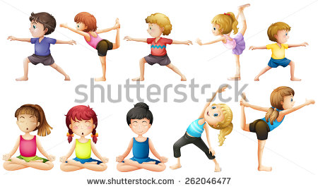 450x268 Kids Yoga Clipart