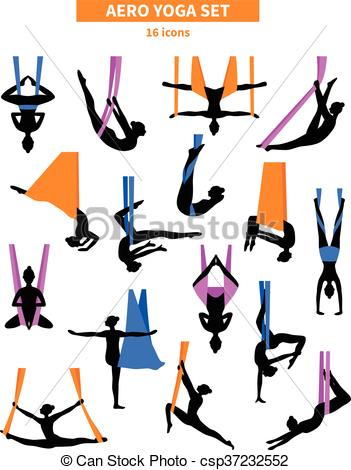 351x470 Aero Yoga Black White Icon Set. Aero Yoga Black White Clipart