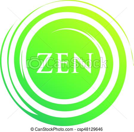 450x442 An Amazing Illustration Of Yoga Zen Meditation Symbol Design Eps