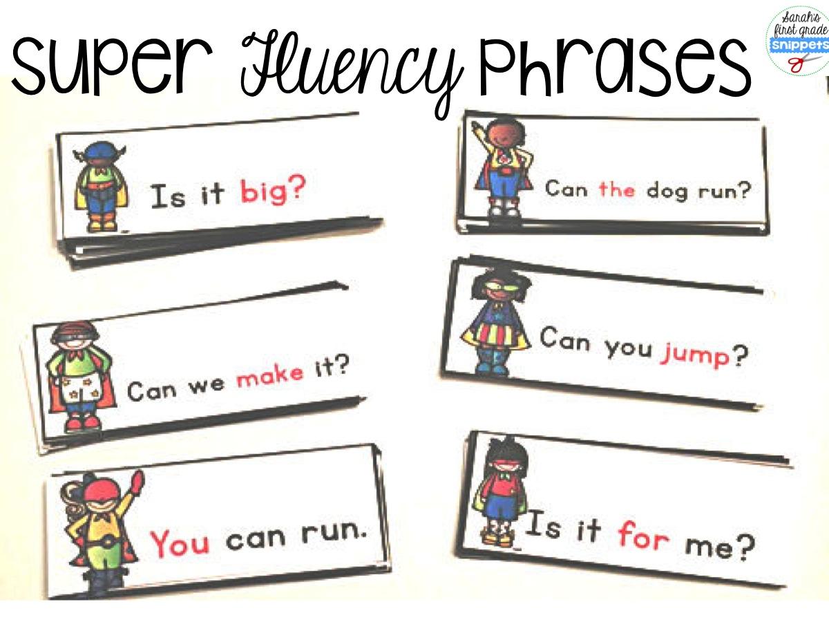 1200x900 Sarah's First Grade Snippets Super Reader Pack Fluency, Phonics
