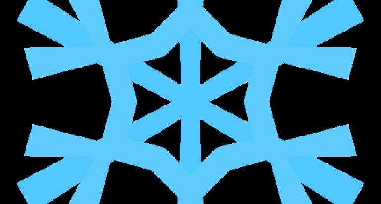 768x411 Blue Snowflake Clipart Clip Art Blue Snowflake Clipart Dma Homes