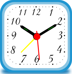 291x297 Clock Png, Svg Clip Art For Web