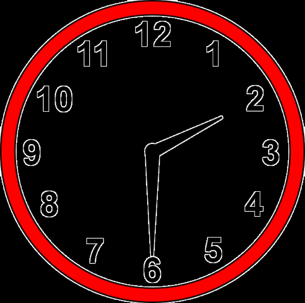 1024x1019 New Clipart Clock Collection