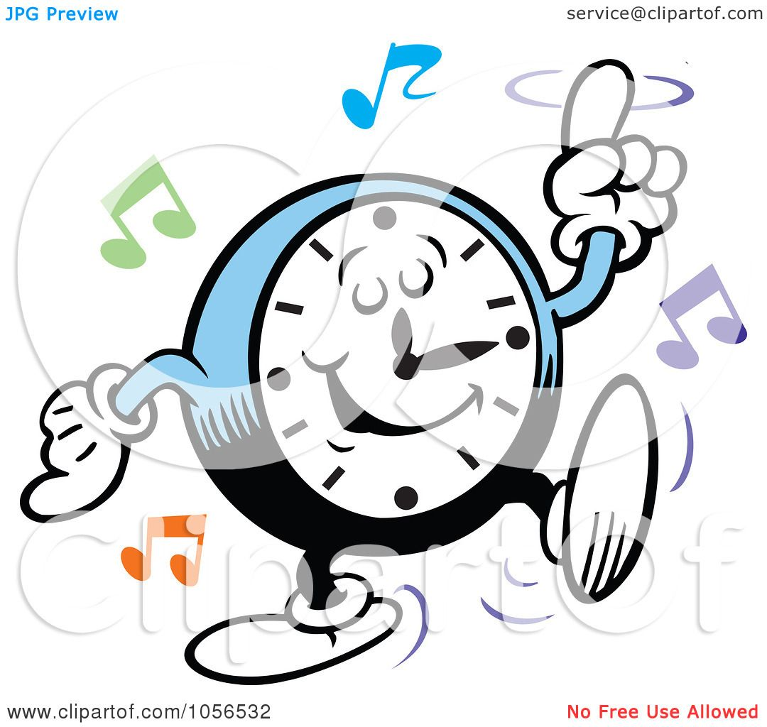 1080x1024 Royalty Free Vector Clip Art Illustration Of A Clock Rocking