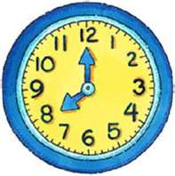 197x198 Analog Clock Clip Art