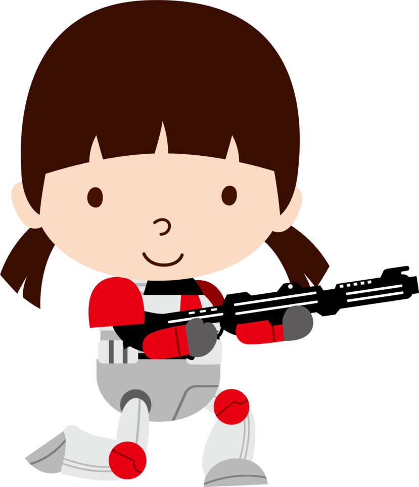 829x963 Clone Trooper Girl By On @