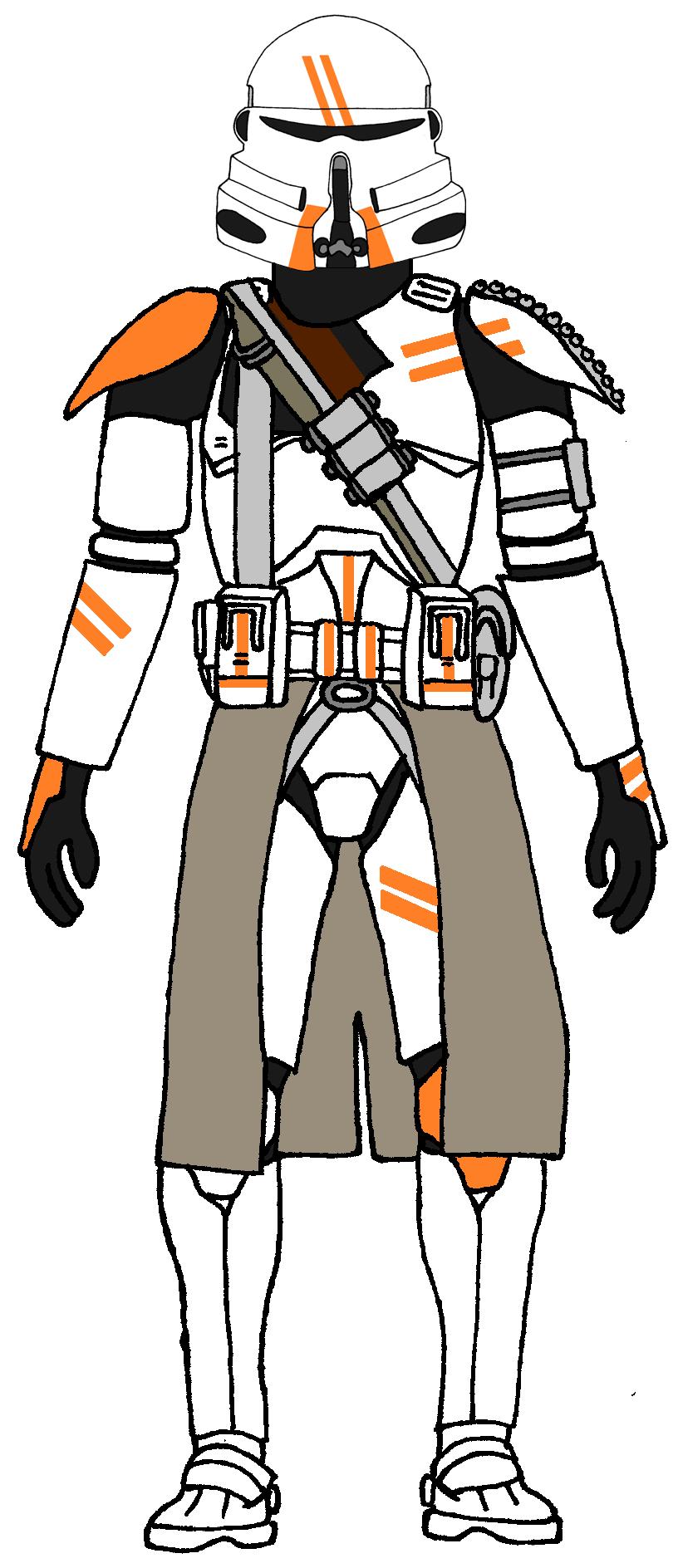 816x1888 Clone Trooper 2nd Airborne Company Clone Units And Clone Types