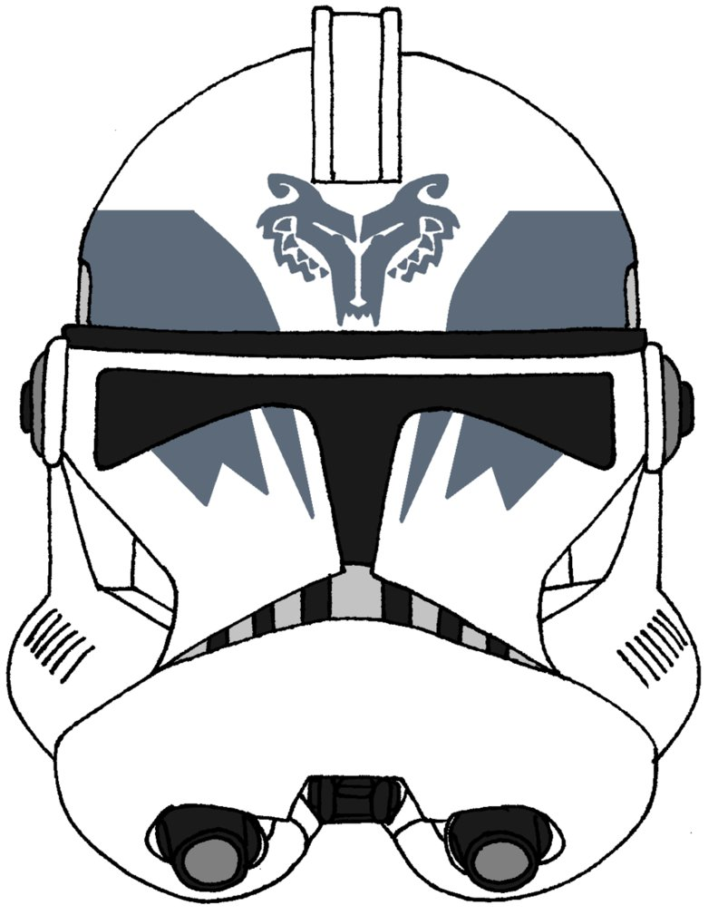 792x1009 Clone Trooper Boost's Helmet 2 By Historymaker1986