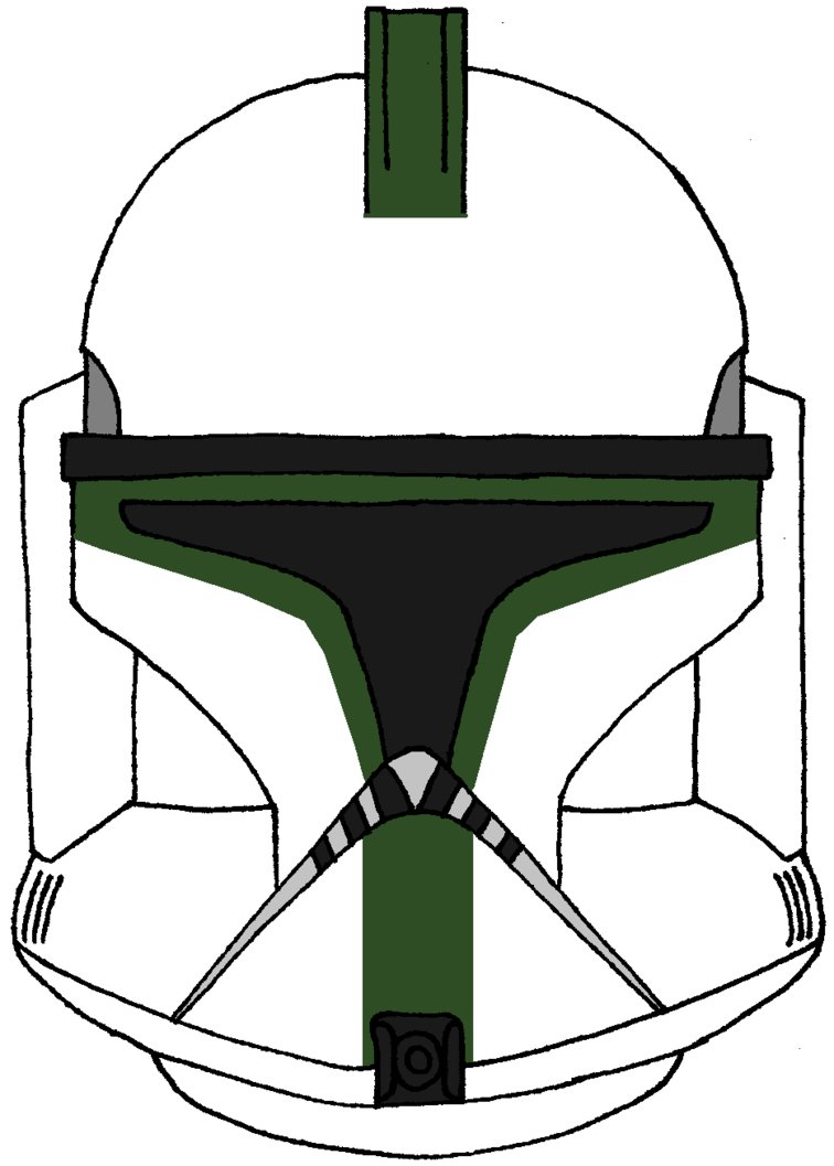 756x1057 Clone Trooper Helmet 41st Elite Phase 1 By Historymaker1986