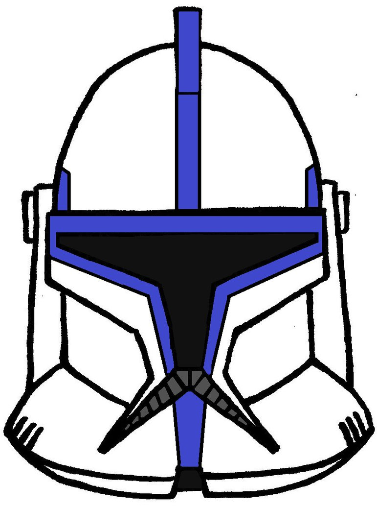 771x1035 Clone Trooper Helmet Lieutenant Phase 1 By Historymaker1986