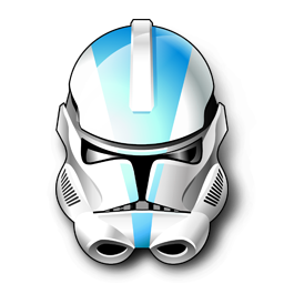 256x256 Clone Trooper Icon Free Images