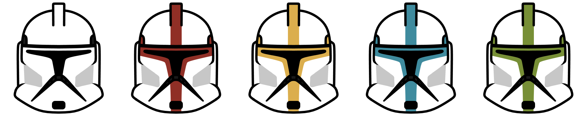 2000x400 Clone Troopers (Phase I) By What The Frog
