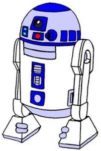 201x300 Impressive R2d2 Clip Art Star Wars Clipart Pencil And In Color