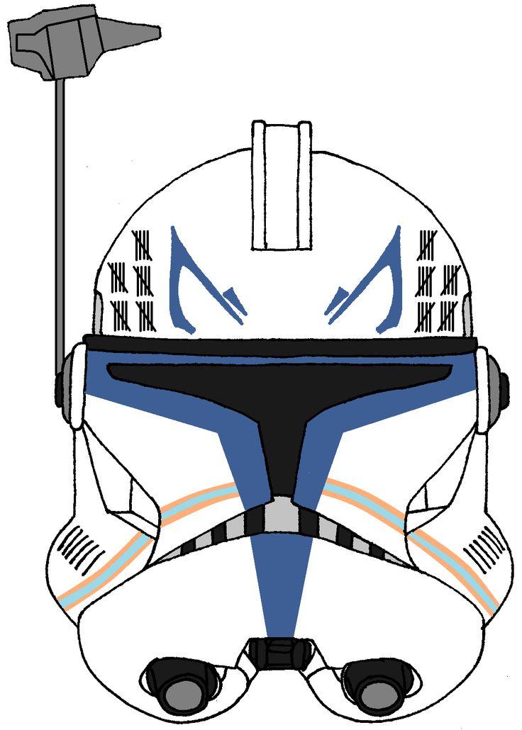 736x1030 Star Wars Clone Helmet Clip Art
