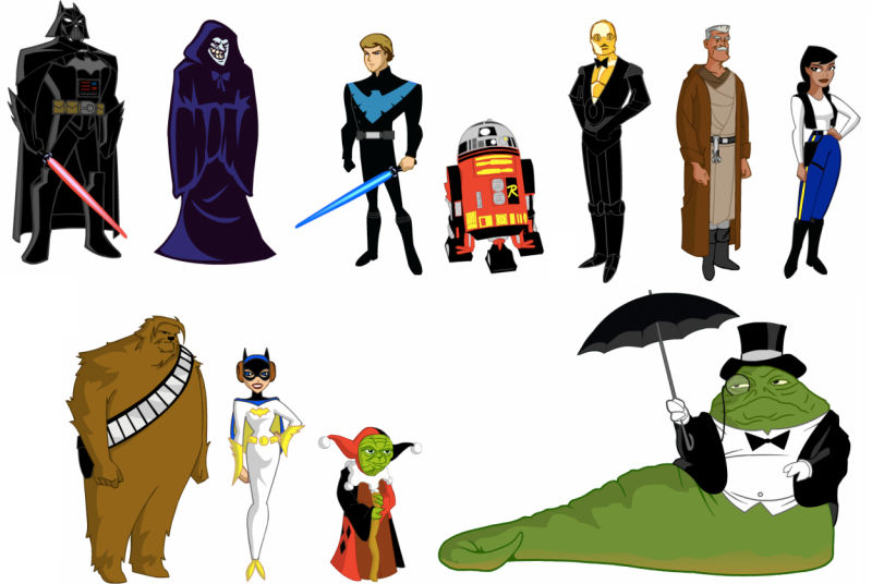 800x536 Star Wars Clipart Animated