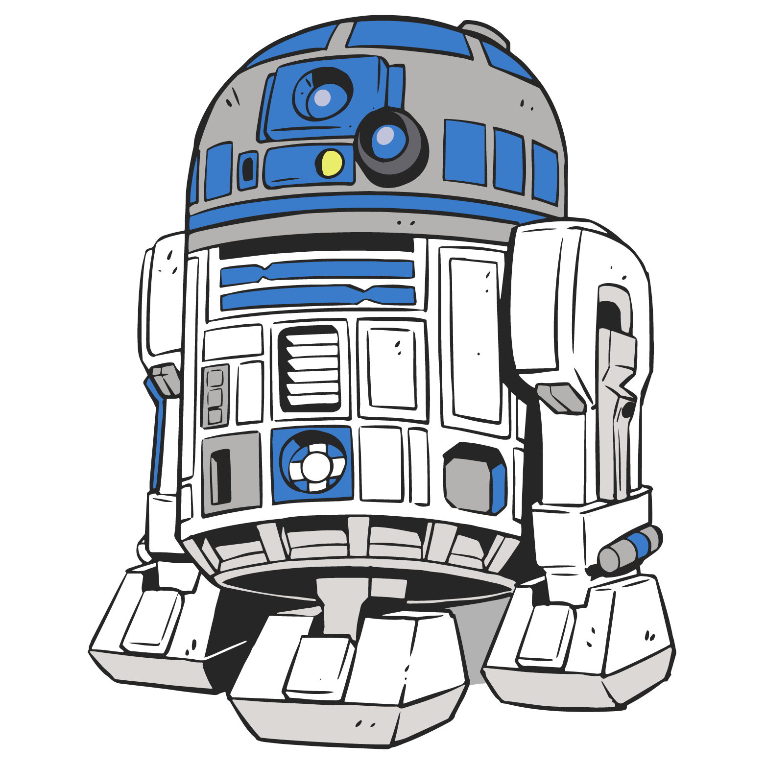 1564x1564 Star Wars Clipart R2d2