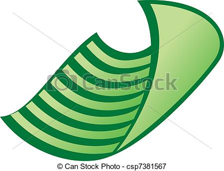 450x344 Vector Dish Cloth. Dish Cloth. Vector Illustration On White