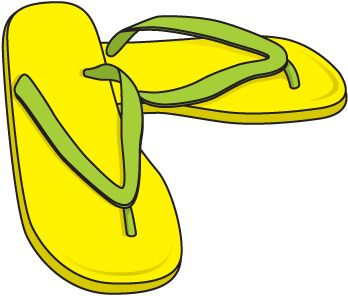 348x296 Clothing Flip Flops Clip Art Clothes Clipart Image 2