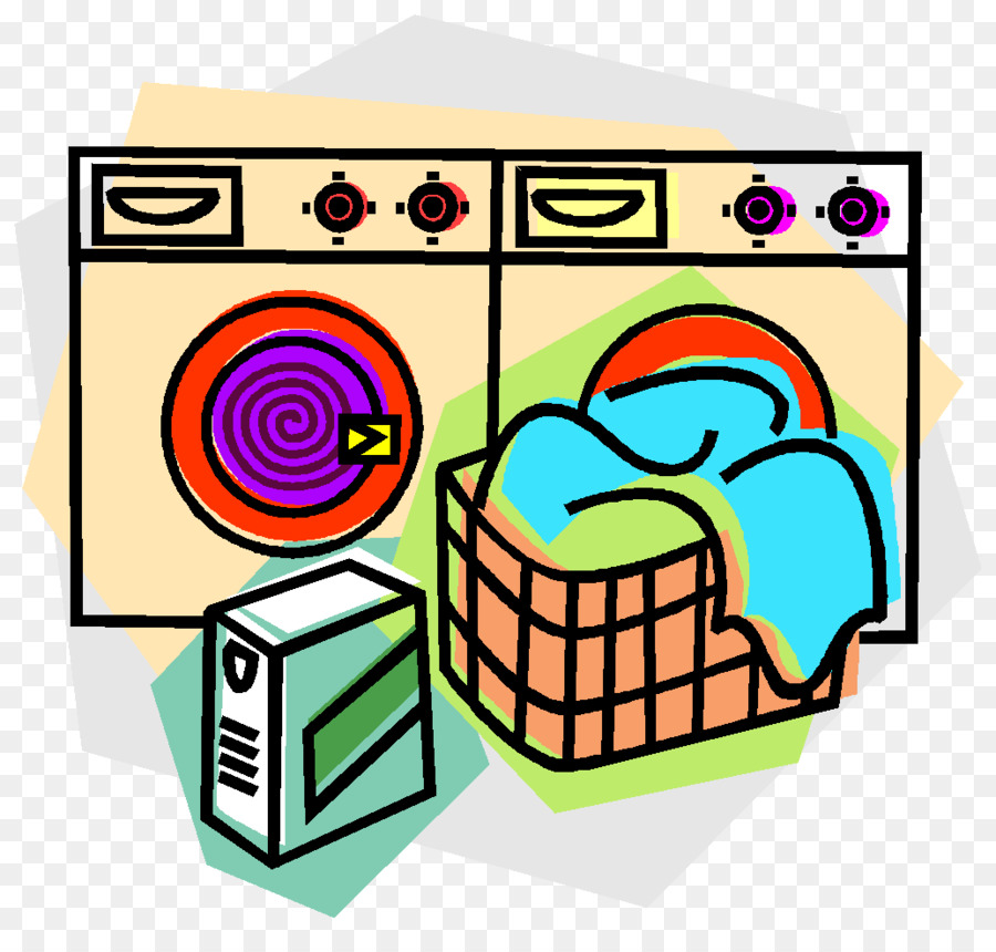 900x860 Laundry Room Hamper Washing Machine Clip Art
