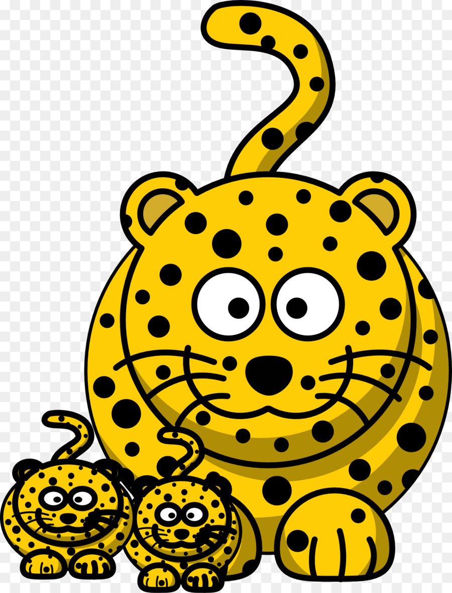 900x1180 Baby Jungle Animals Clouded Leopard Clip Art