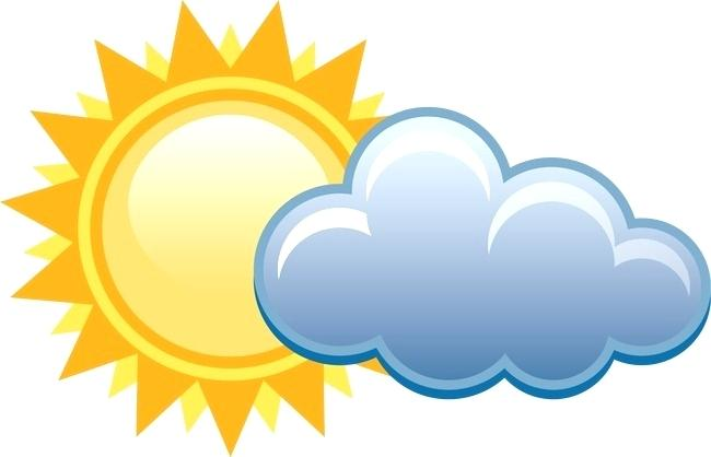 650x418 Free Weather Clip Art Weather Icons Sun Clouds Rain And Lightning