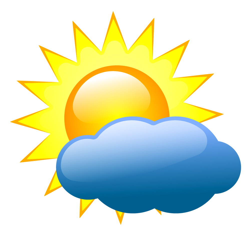 1007x959 Image Of Cloudy Clipart