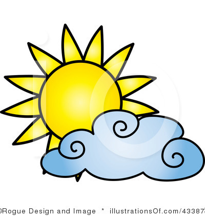 400x420 Partly Cloudy Clip Art Clipartlook