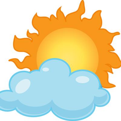 400x400 Image Of Cloudy Clipart