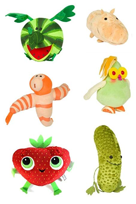 454x679 Cloudy With A Chance Of Meatballs 2 Six Pieces Plush