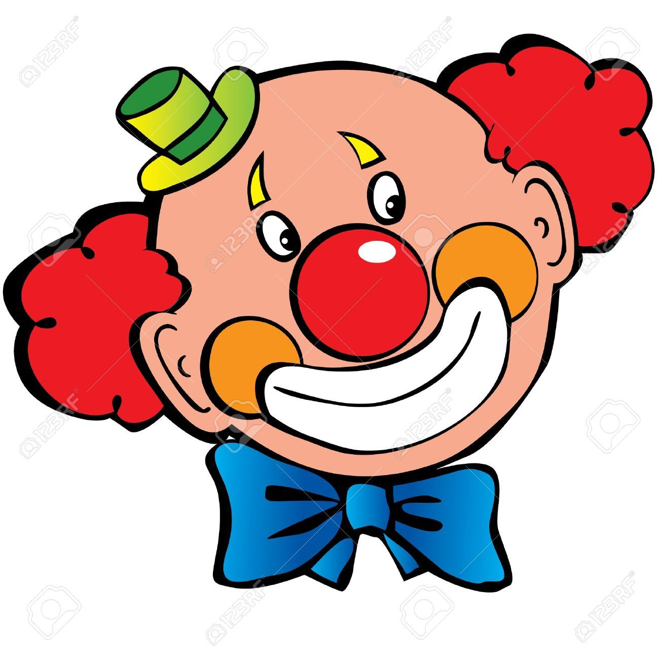 1300x1300 Image Clown Face Clipart 9 Free Clown Clipart 1 Page