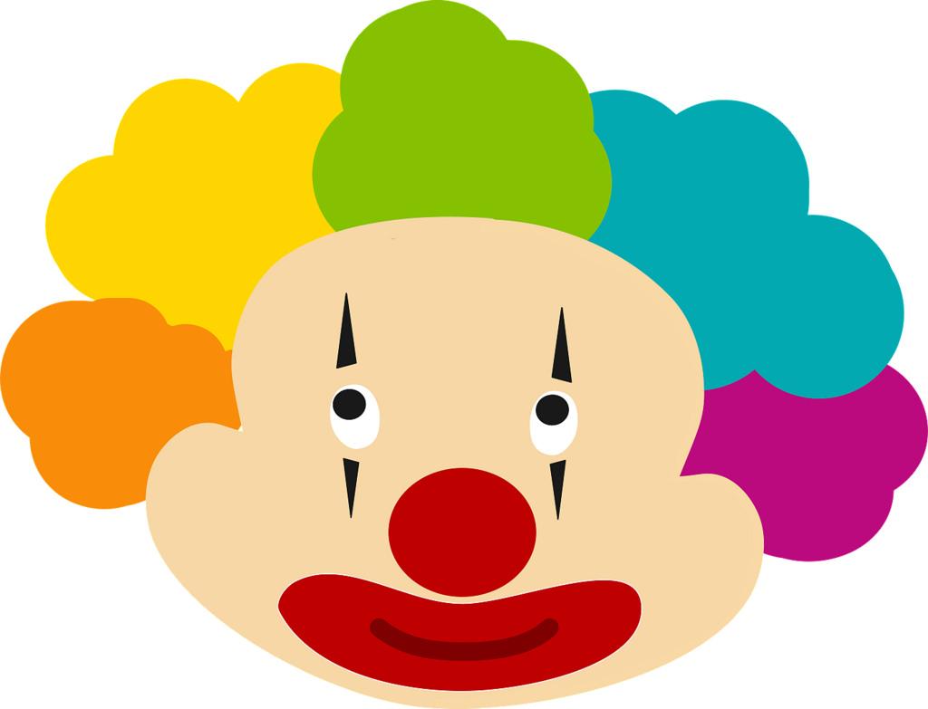 1024x783 Clown Face Clown Face Clipart Shannon Featheringill