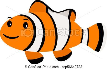 450x290 Clown Fish. Underwater Swimming Funny Smiling Clownfish