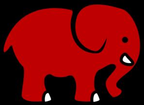 297x216 Bama Club Red Elephant Clip Art