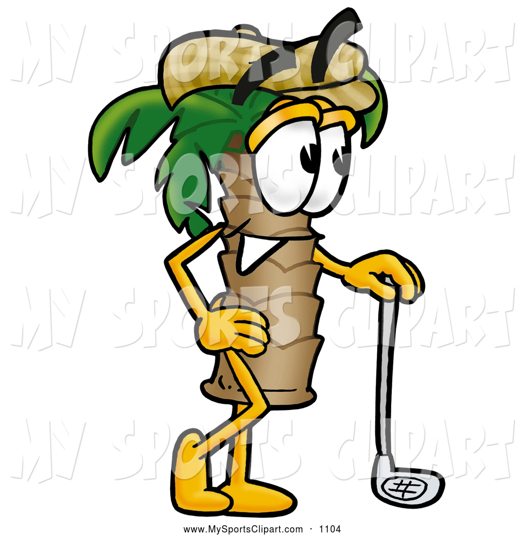 1024x1044 Sports Clip Art Of A Tropical Palm Tree Mascot Cartoon Character