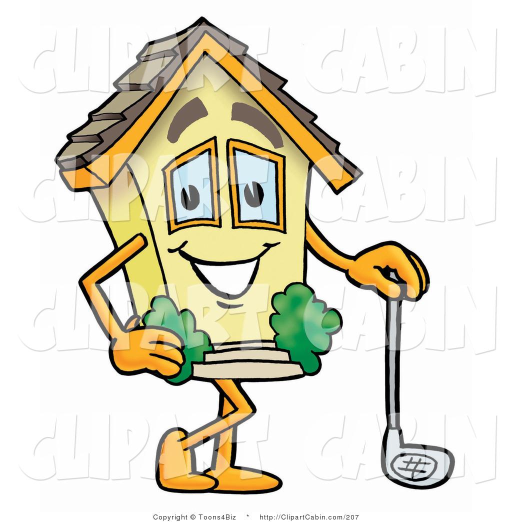 1024x1044 Cartoon Clip Art Of A Sporty House Mascot Cartoon Character