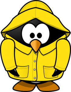 234x300 Club Penguin Rain Coat Clip Art