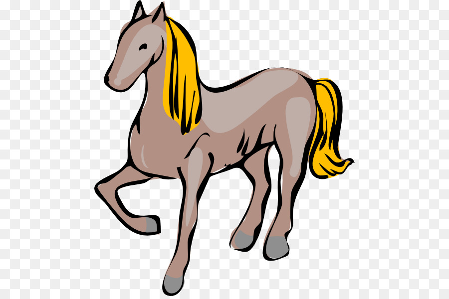 900x600 Clydesdale Horse Pony Stallion Animation Clip Art