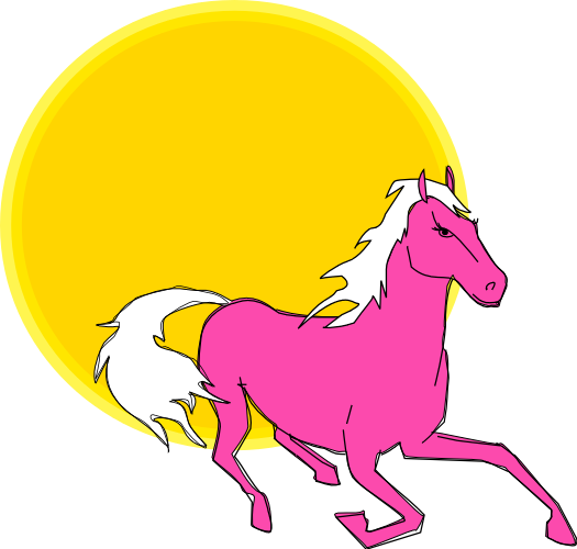 525x500 Free Horse Clipart