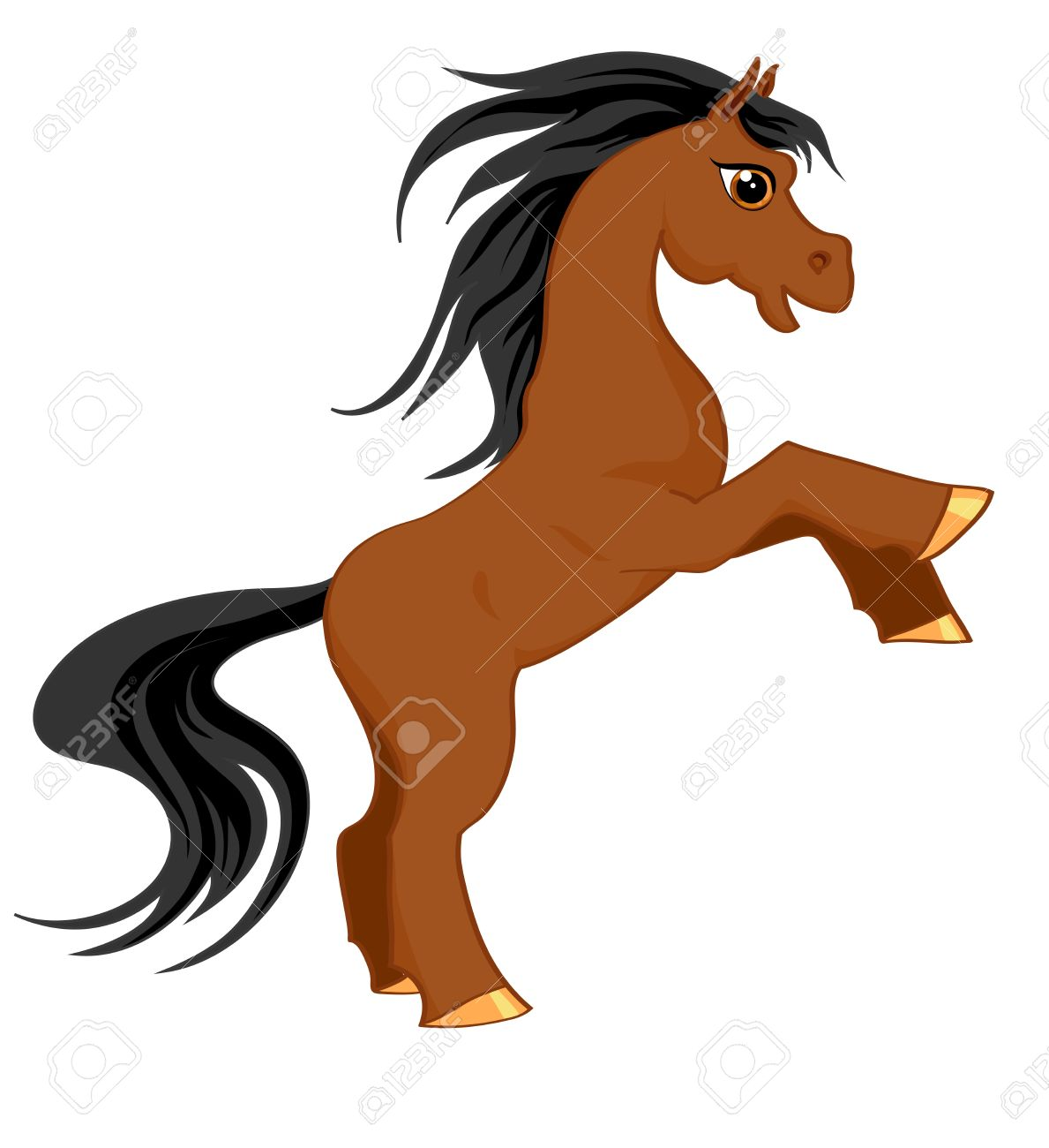 1189x1300 Pony Clipart Brown Horse