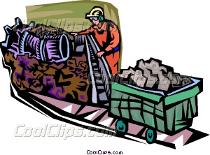 300x222 Coal Industry Vector Clip Art