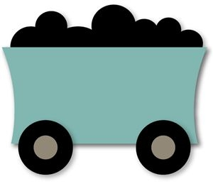 300x259 Coal Car Clipart
