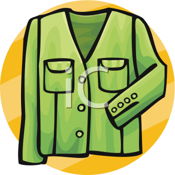 350x350 Coat Clipart Green Thing
