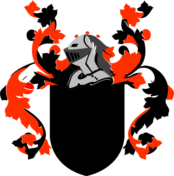 594x600 Family Crest Clip Art