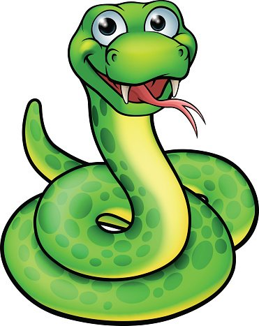 371x467 Snake Cartoon Character Premium Clipart