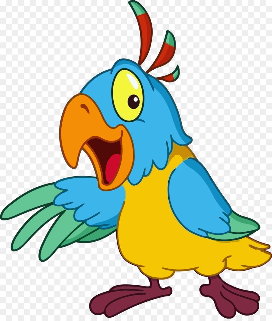 900x1060 Parrot Bird Clip Art