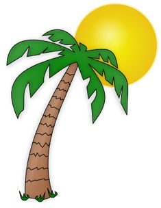 235x304 Palm Tree Clipart Image