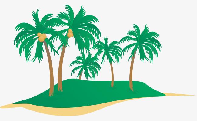 650x400 Vector Coconut Tree History Clipart