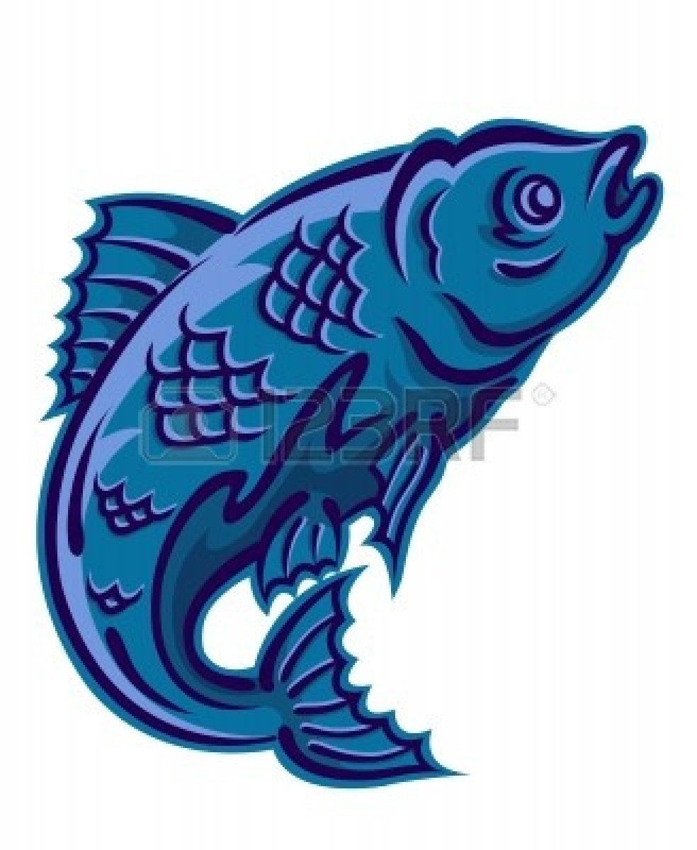 984x1200 Jumping Fish Clip Art