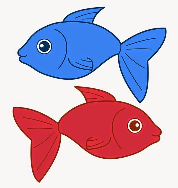 610x647 Red Fish Clipart Redfish Clip Art Red Sad Fish