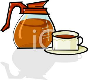 300x273 Pretty Design Coffee Pot Clipart Image A Cup Of With An Industrial